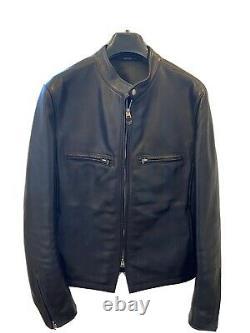 100% Genuine Tom Ford Leather Jacket