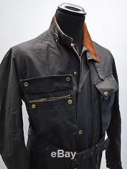 1950s Belstaff Trialmaster Vtg Belstaff Trialmaster Wax Jacket 50's Motorcycle