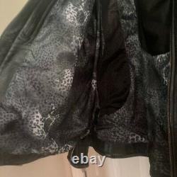 2 XLHarley Davidson Women's Beautiful BLING Leather Riding Jacket XXL