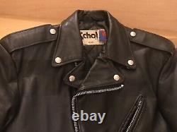 40 schott steerhide 518 leather motorcycle jacket 641 118 618