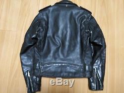 618 36 perfecto schott steerhide leather double motorcycle jacket racer 641