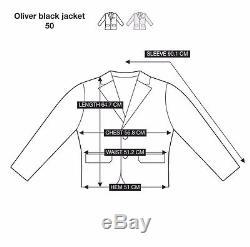 ACNE STUDIOS MENS LEATHER OLIVER BIKER JACKET, BLACK (size L)