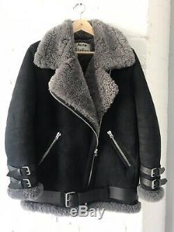 ACNE STUDIOS Shearling Velocite Jacket