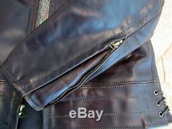 AERO CHiPs Jacket sz 38 (fits like 42) Brown Horween Horsehide Leather CXL FQHH