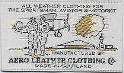 AERO LEATHER Sheepskin Shearling RAF Flying Pilot Aviator IRVIN Bomber Jacket