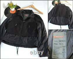 AUTHENTIC PRADA Black Jacket made italy