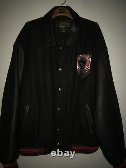 AVIREX ROAD DOGZ Leather BRED Jacket 5xl