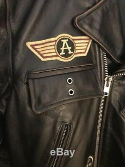 Acme Clothing Co. Warners Brother- Looney Tunes Leather Jacket- Large Preowned
