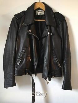 Acne Studio Mape Shearling Leather Jacket