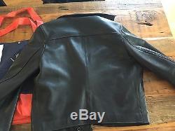 Acne Studios Gibson Leather Jacket (Size 50)