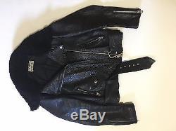 Acne Studios MAPE leather jacket
