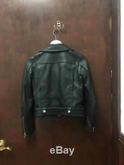 Acne Studios Xs Black Leather Jacket