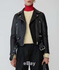 Acne Studios leather jacket. Style Mock. Black. Size 36