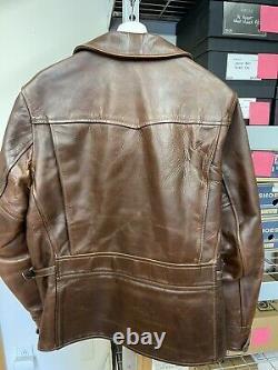 Aero Leather Company Brown Horsehide Jacket