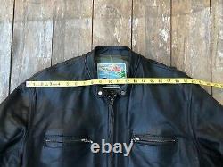 Aero Leather horsehide Jacket Size 44- Freewheelers. Cafe racer