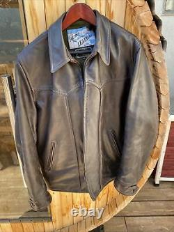 Aero horsehide leather jacket