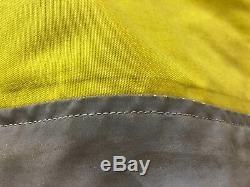 Aerostich Darien XL HiViz Yellow Jacket with liner