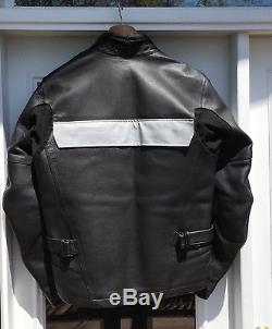 Aerostich Transit 2 Perforated Leather Motorcycle Jacket Size 44 Waterproof