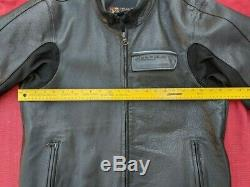 Aerostich Transit Leather Gore-Tex Motorcycle Jacket With Armor 46 Long 987.00 new