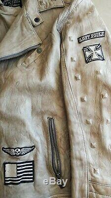 Affliction REBORN Limited Edition Mens Leather jacket
