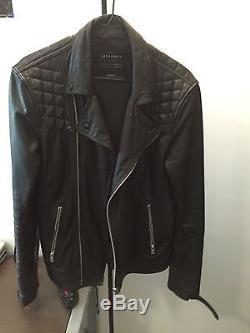 All Saints Kushiro Leather Jacket