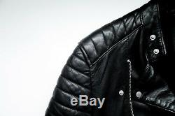 Allsaints Jasper leather jacket men small