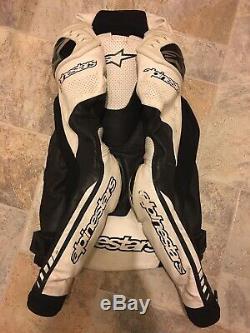 Alpinestars Atem Perforated Leather Motorcycle Jacket Size 40 Us 50 Eu
