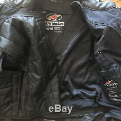 Alpinestars GP Leather Racing Motorcycle Jacket 40 US / 50 EU Sport Street