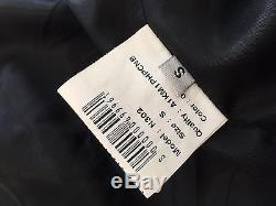 Authentic Anine Bing leather biker jacket Size Small RRP$1499