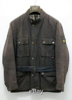 Authentic Belstaff WAXED COTTON Biker Jacket Roadmaster Trialmaster Sammy Miller