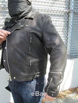 Aviakit Lewis Lightning No 391 Triumph Rockers Leather Jacket Size 46 Custom