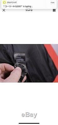 BALMAIN x H&M Black/Red Leather Slim Fit Biker Moto Jacket 38/Small