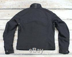 BELSTAFF BLACK LABEL Men's Motorcycle Gangster Biker Jacket Coat ITALY MADE