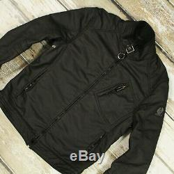 BELSTAFF H RACER Men's COTTON BLEND Motorcycle Davidson Jacket Coat Blouson