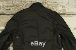 BELSTAFF H RACER Men's COTTON BLEND Motorcycle Davidson Jacket Coat Blouson