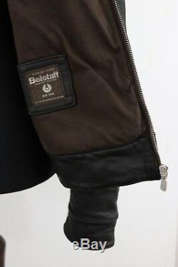 BELSTAFF H RACER Winter Rubberised Jacket Bourne Legacy size L (M) Authentic