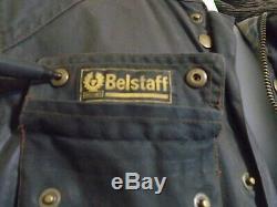 BELSTAFF ROADMASTER WAXED COTTON GOLD LABEL MOTORCYCLE JACKET Size 46 UK M