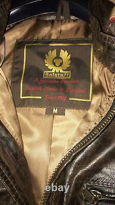 BELSTAFF WAR OF THE WORLDS HERO M TOM CRUISE LEATHER JACKET rare