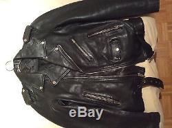 BLK DNM Leather Biker Jacket