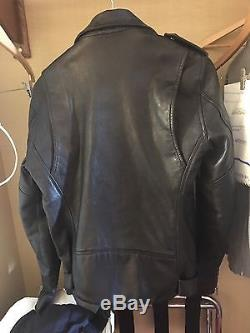 BLK DNM Men's Leather Jacket 5 size Medium