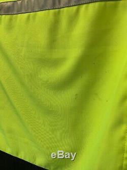 BMW Motorrad Airshell Motorcycle Jacket Flo Yellow Black 2XL UK 48