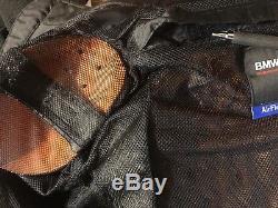 BMW Motorrad Motorcycle Genuine AirFLow Grey Black Jacket Men Euro 50 USA 40R