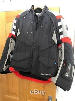 BMW Rallye 2016 Style Motorcycle Jacket Black/Grey Size 52