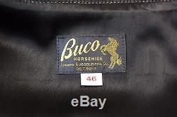 BUCO J-100 MOTORCYCLE LEATHER JACKET REPRODUCTION by THE REAL McCOY'S JAPAN 46