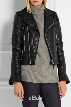 Balenciaga Classic Motorcycle Leather Jacket Black FR32 IT34 AUS4-6 Excellent