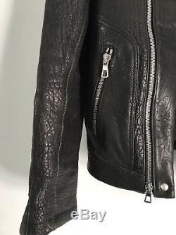 Balmain hm leather jacket