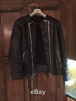 Balmain leather jacket Size 52 Holy Grail of Jackets