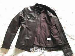 Banana Republic Leather Jacket (Size Medium)