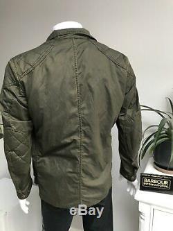 Barbour International Steve Mcqueen Double Colour Jacket Polyamide Cotton LARGE