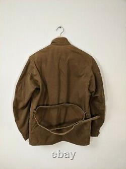 Barbour Steve Mcqueen'New Baker' Wax Jacket Size Medium